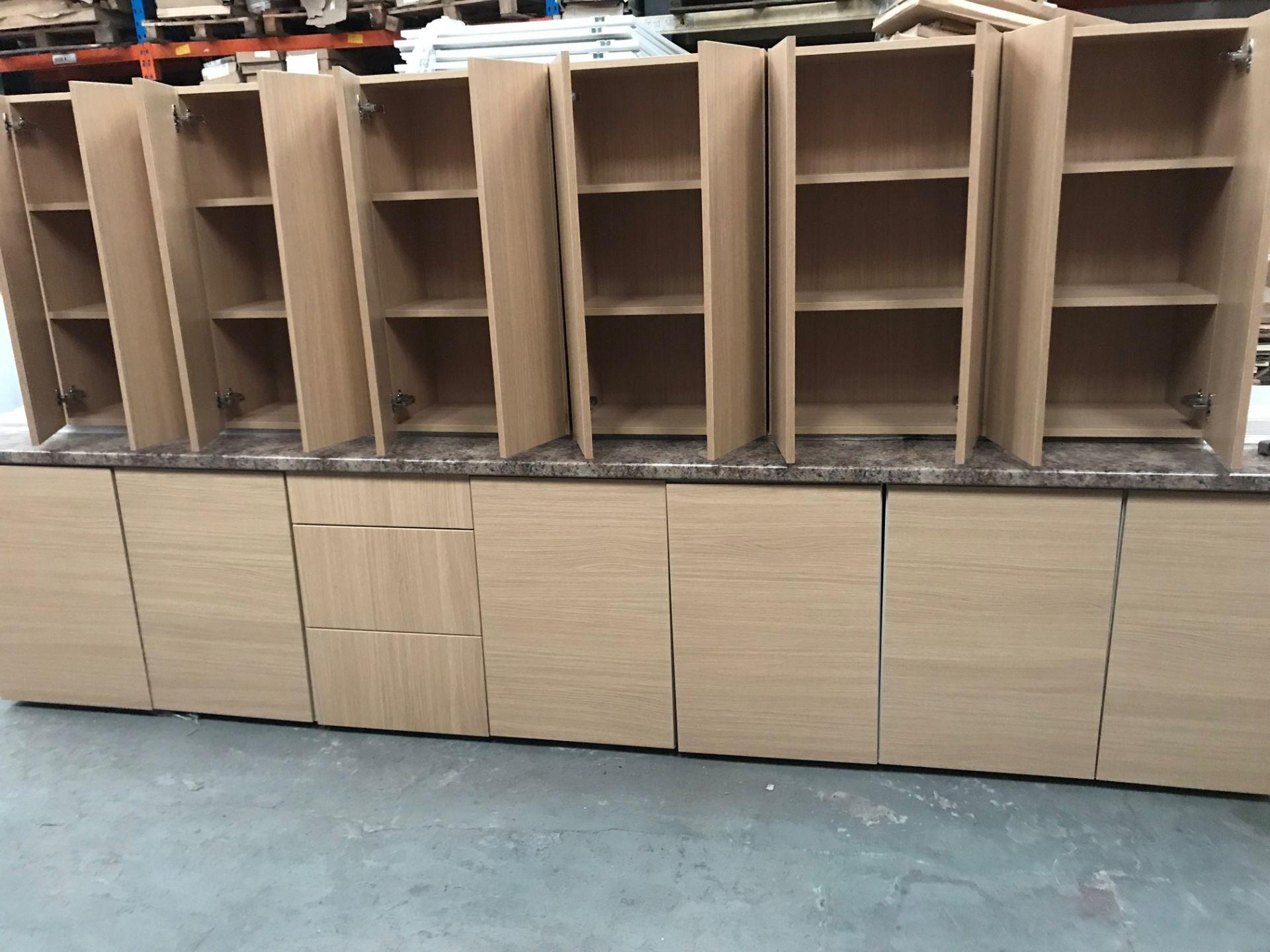 Kitchen units, 6x 500x 900 wall units, 5x 500 base, 1x 400 base, 1 x500 drawer pack (viewing and