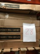 Kitchen Units (Pallet 28) (viewing and collection from Unit B, Scotch Park Trading Estate, Forge