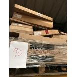Bathroom cabinets (Pallet 90) (viewing and collection from Unit B, Scotch Park Trading Estate, Forge