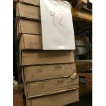 8 walnut wine racks (Pallet 92) (viewing and collection from Unit B, Scotch Park Trading Estate,