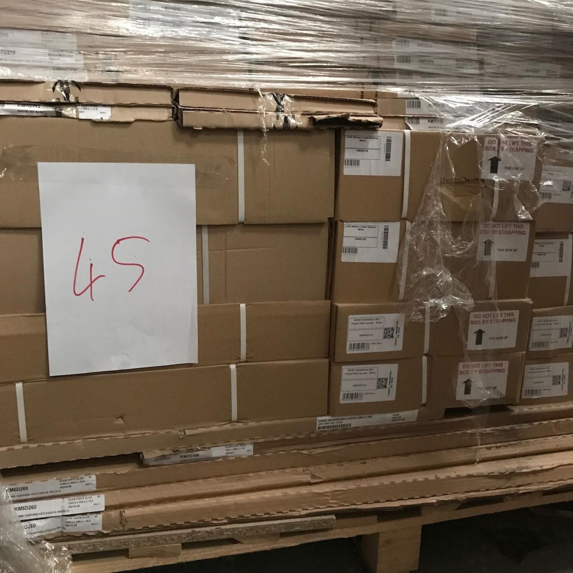 Shelf Rack and Doors (Pallet 45) (viewing and collection from Unit B, Scotch Park Trading Estate,