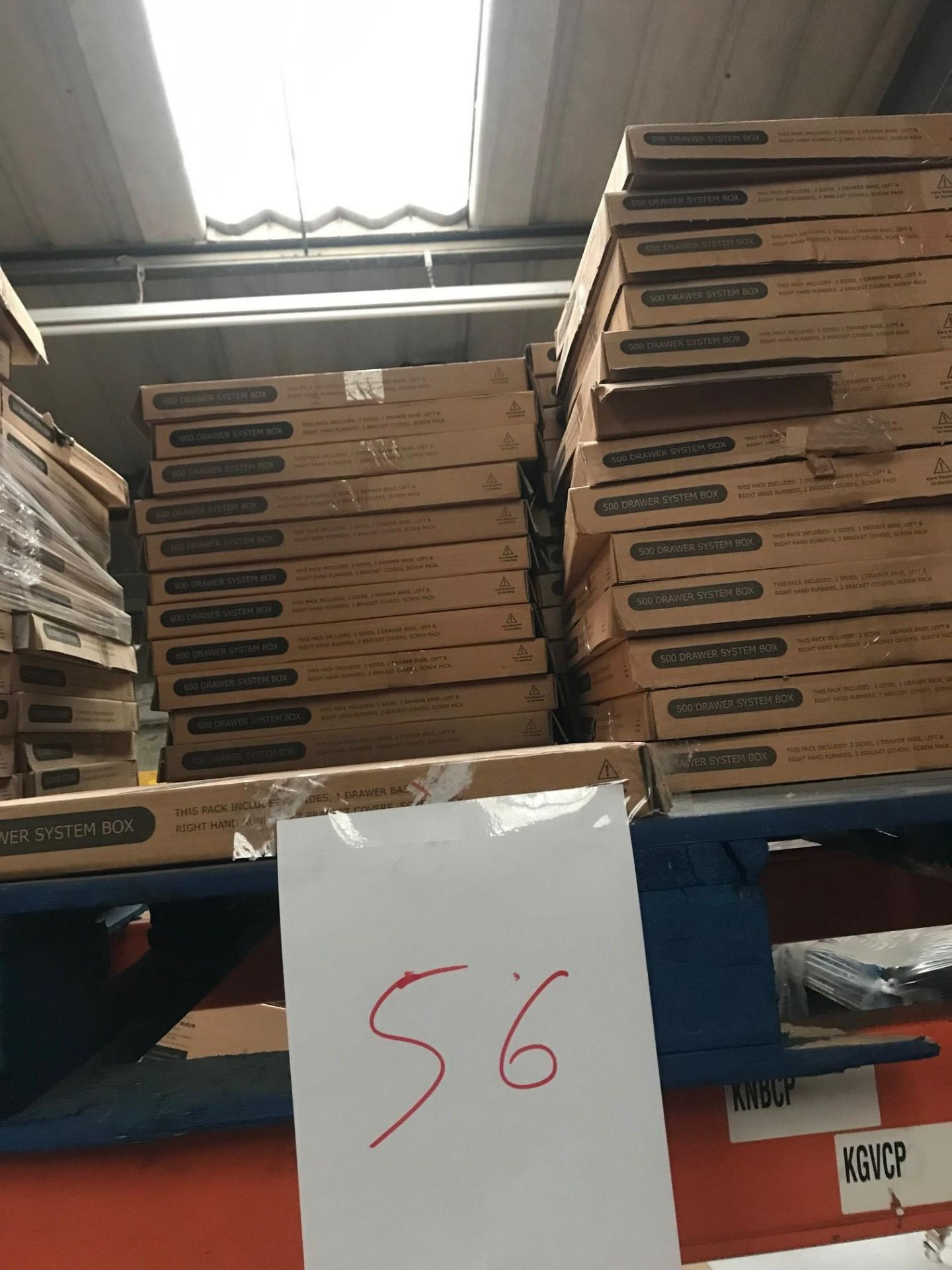 Drawer Boxes (Pallet 56) (viewing and collection from Unit B, Scotch Park Trading Estate, Forge