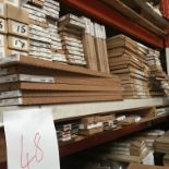 Contents to Shelf including Doors, Larder unit, glass shelves (Pallet 48) (viewing and collection
