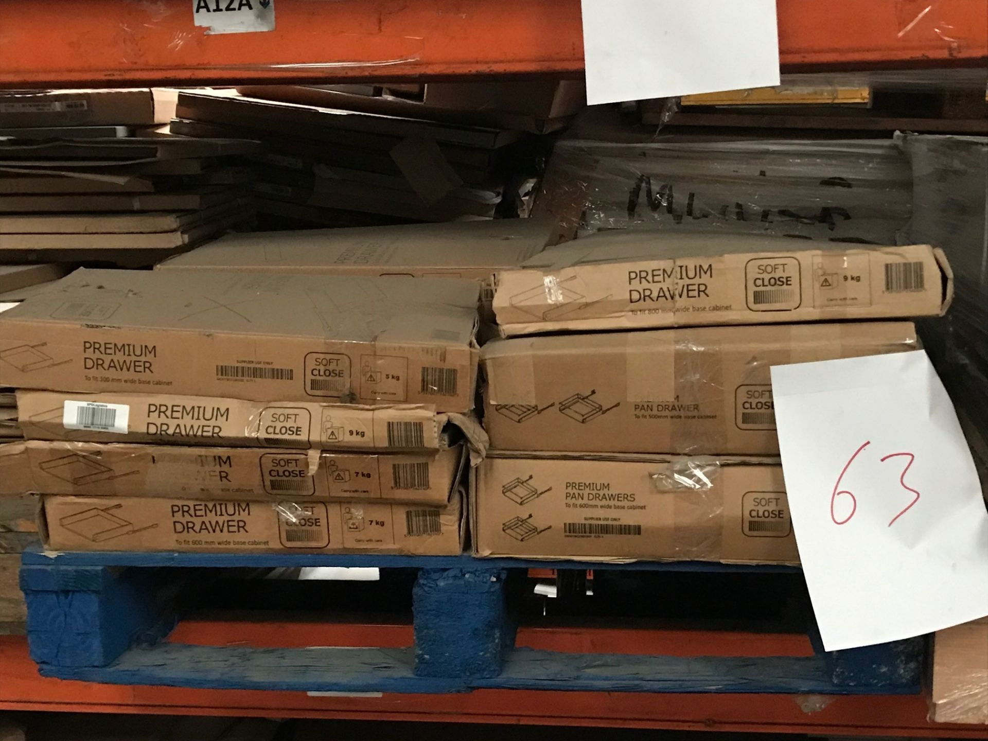 Drawer Boxes (Pallet 63) (viewing and collection from Unit B, Scotch Park Trading Estate, Forge