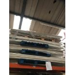 4 x Pallets white plinths (Pallet 62) (viewing and collection from Unit B, Scotch Park Trading