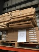 Kitchen doors, panels (pallet 17) (viewing and collection from Unit B, Scotch Park Trading Estate,