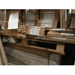 2 Pallets Curved Plinths, Doors, Posts (Pallet 97) (viewing and collection from Unit B, Scotch