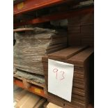 Walnut shaker doors (Pallet 93) (viewing and collection from Unit B, Scotch Park Trading Estate,