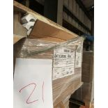 White corner posts (pallet 21) (viewing and collection from Unit B, Scotch Park Trading Estate,