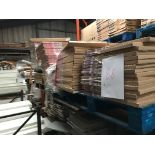 4 pallets of kitchen doors (Pallet 88) (viewing and collection from Unit B, Scotch Park Trading
