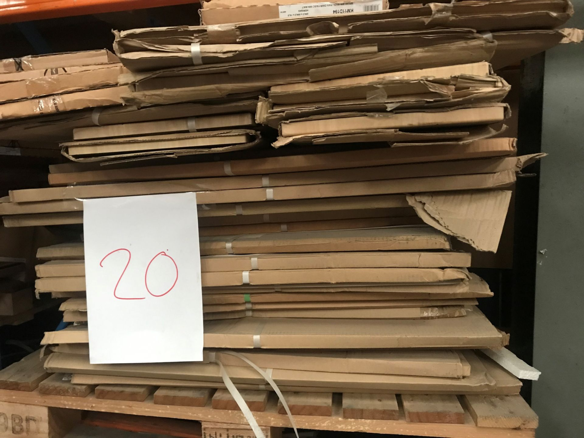 Kitchen Doors (pallet 20) (viewing and collection from Unit B, Scotch Park Trading Estate, Forge