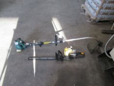 McColloch Tivoli Hedge Cutter and Power Performance Strimmer (both Spares or Repairs)