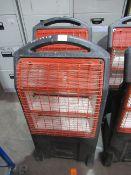 2x Rhino TQ3 110v mobile heaters