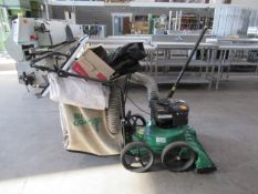 Billygoat KV600 Wheeled Vac with Collector Pipe and Cover