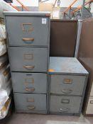 4 Drawer Filing Cabinet and 2 Drawer Filing Cabinet