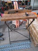 Black & Decker folding workbench