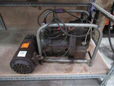 World War 2 Tiny Tim30 amp petrol generator together with a 200amp World War 2 aircraft generator