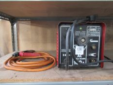 180 AMP welding unit with leads