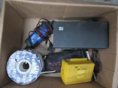 A box to contain various electric test equiptment etc