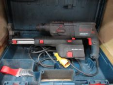 A Bosch GBH 2-23 REA 110v drill with micro filter system