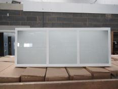 Approx. 45x Lumitron Lighting steel painted with tempered glass wall mountable 'final exit route sig