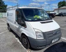 Ford Transit, 260 SWB DIESEL FWD, Low Roof Van TDCi 100ps. Registration: YT63 BZW, V5 Certificate