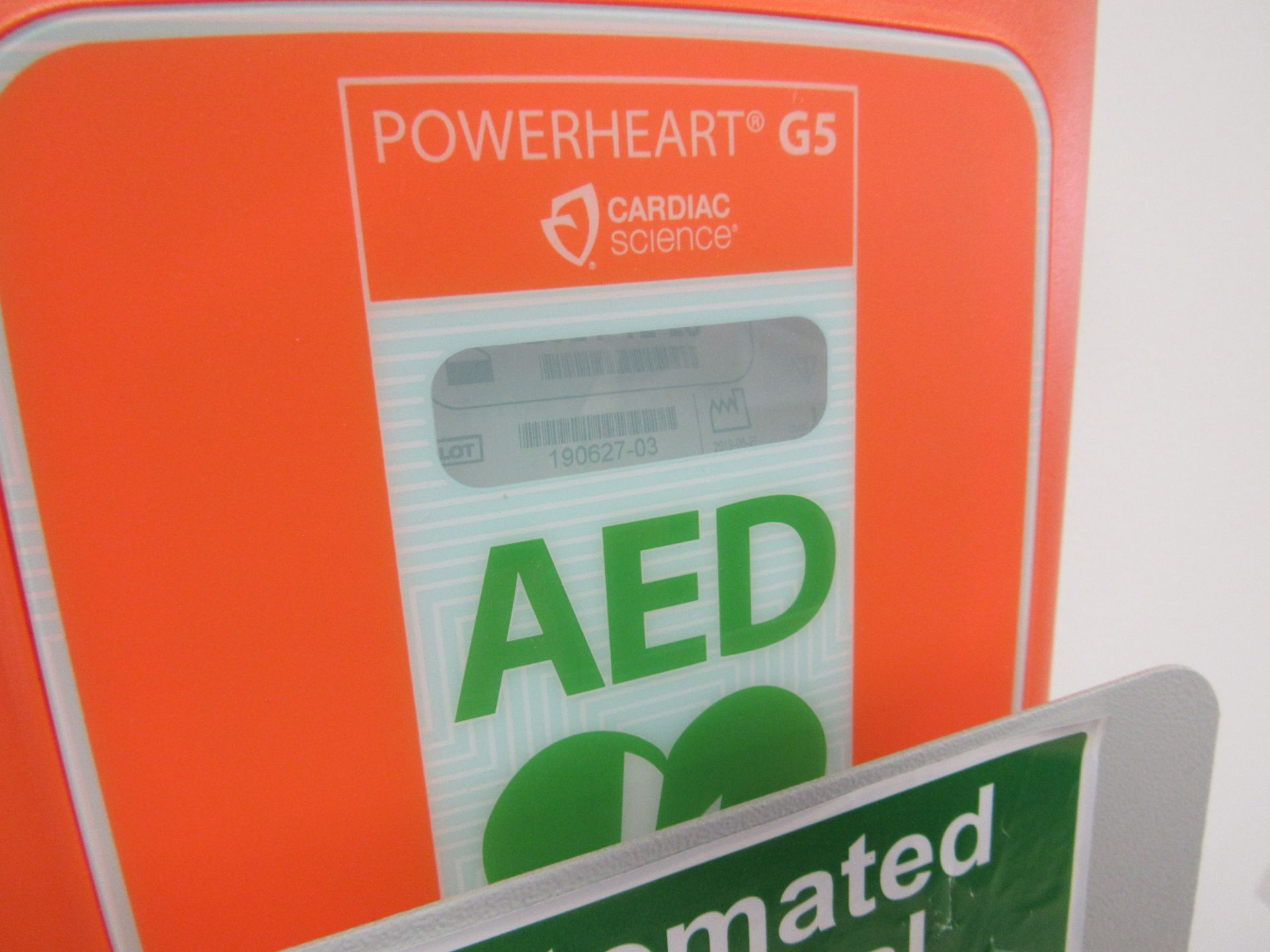 PowerHeart G5 automatic external defibrillator, Serial Number D00000042311 - Image 2 of 3