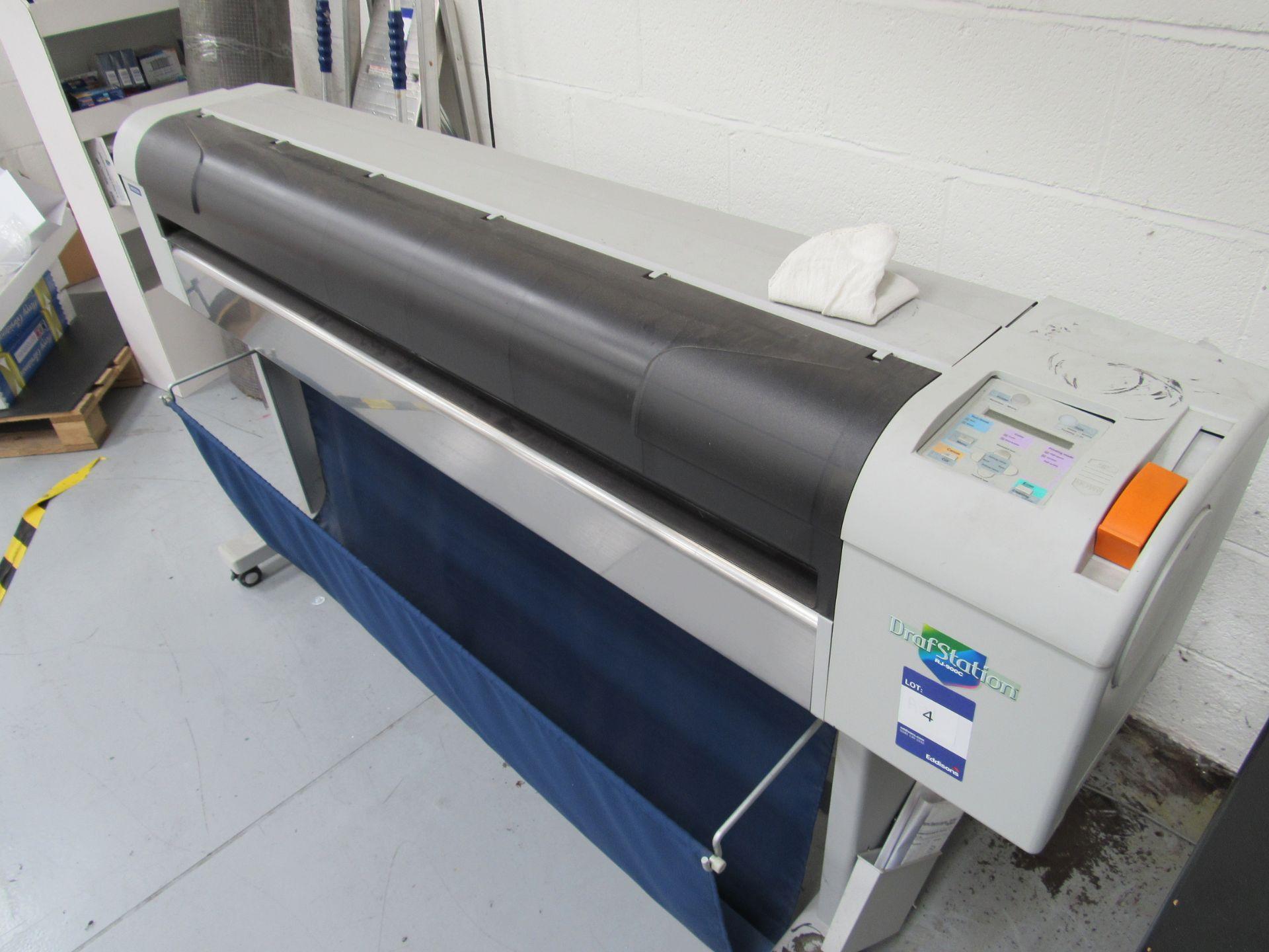 Mlitoh RJ-900C Wide Format Printer 1150mm Serial Number FN4E004886 - Image 3 of 5