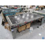 Screen Printing Table, incomplete with Vacuum Pump