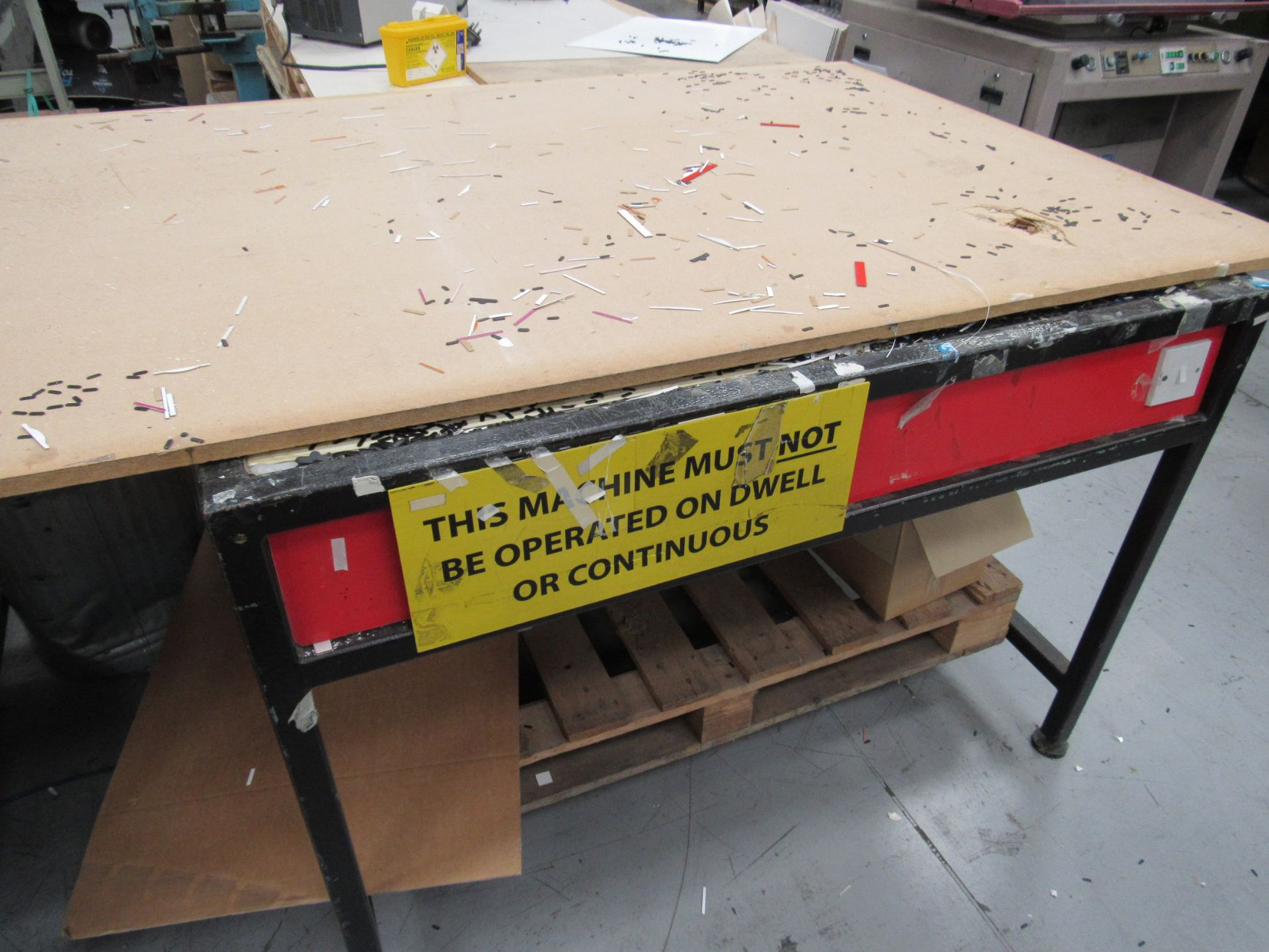 Natgraph Light Table 1300x1910mm and Natgraph Table – Spares or Repairs - Image 3 of 3