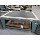 Screen Printing Table, Incomplete