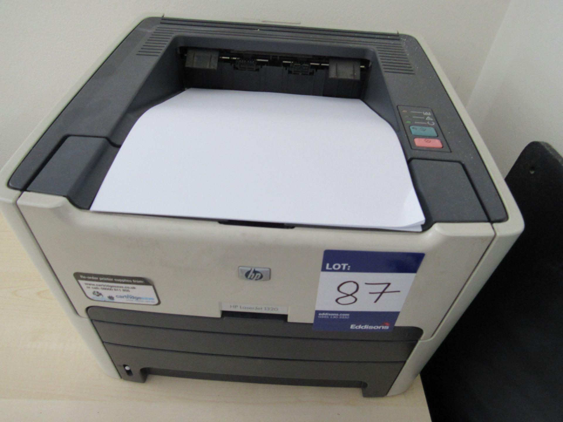 Dymo LabelWriter 320, Swordfish Cross Cut 100 XC shredder, and HP LaserJet 1320 Printer - Image 3 of 3
