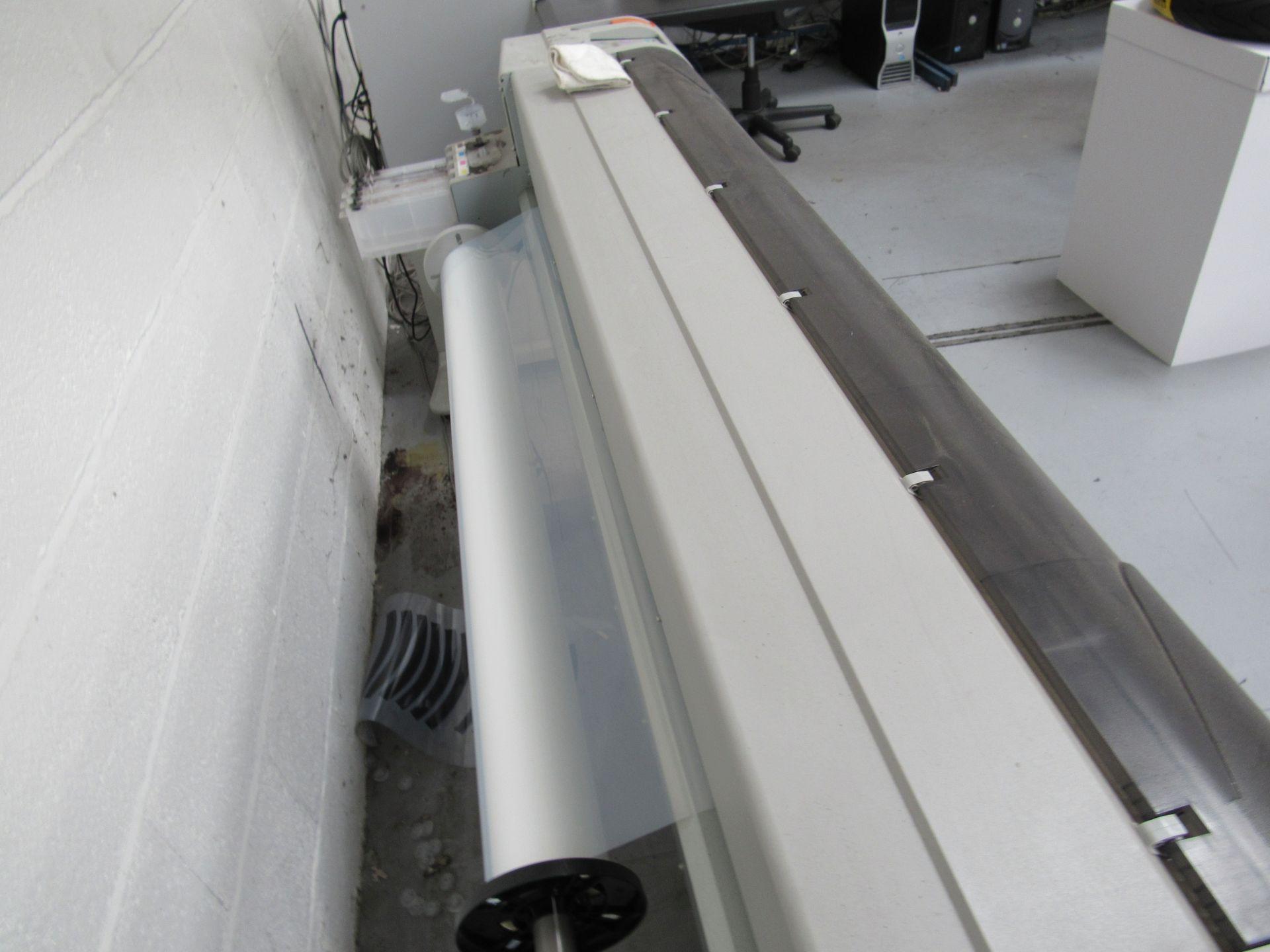 Mlitoh RJ-900C Wide Format Printer 1150mm Serial Number FN4E004886 - Image 4 of 5