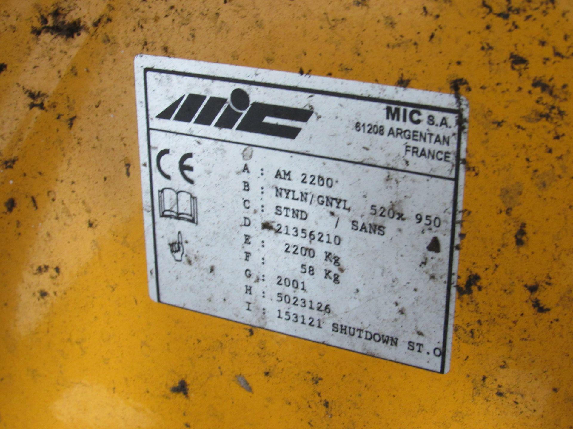 MIC AM2200, 2200Kg Pallet Truck - Image 3 of 3