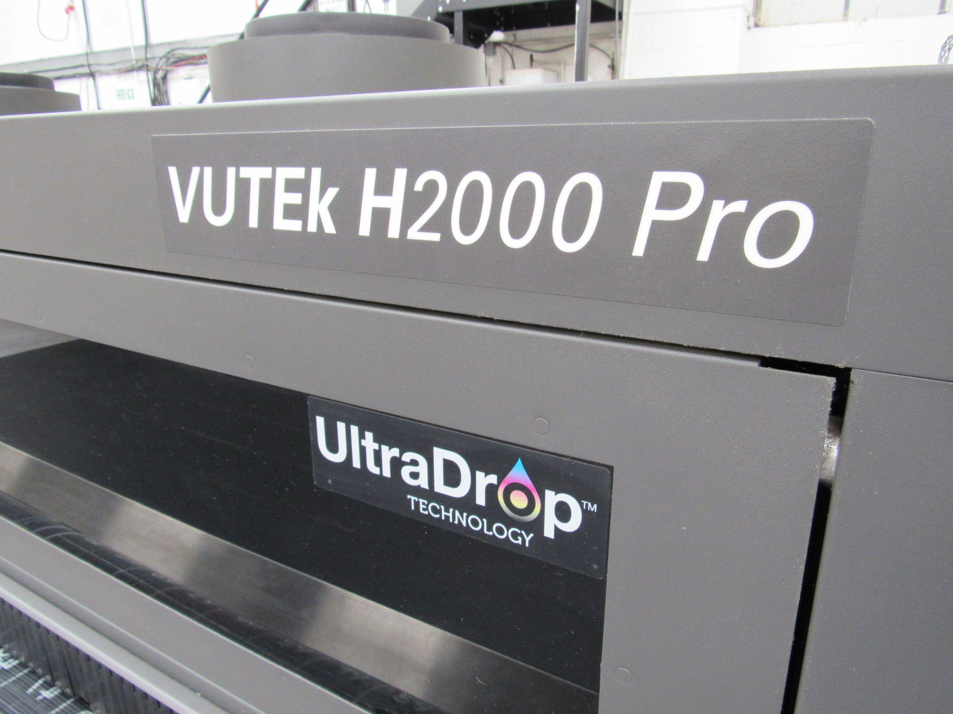 EFI VUTEk H2000 Pro - UltraDrop Technology UV 2m Hybrid Printer, Serial Number 262013, Dec 2014, - Image 7 of 16