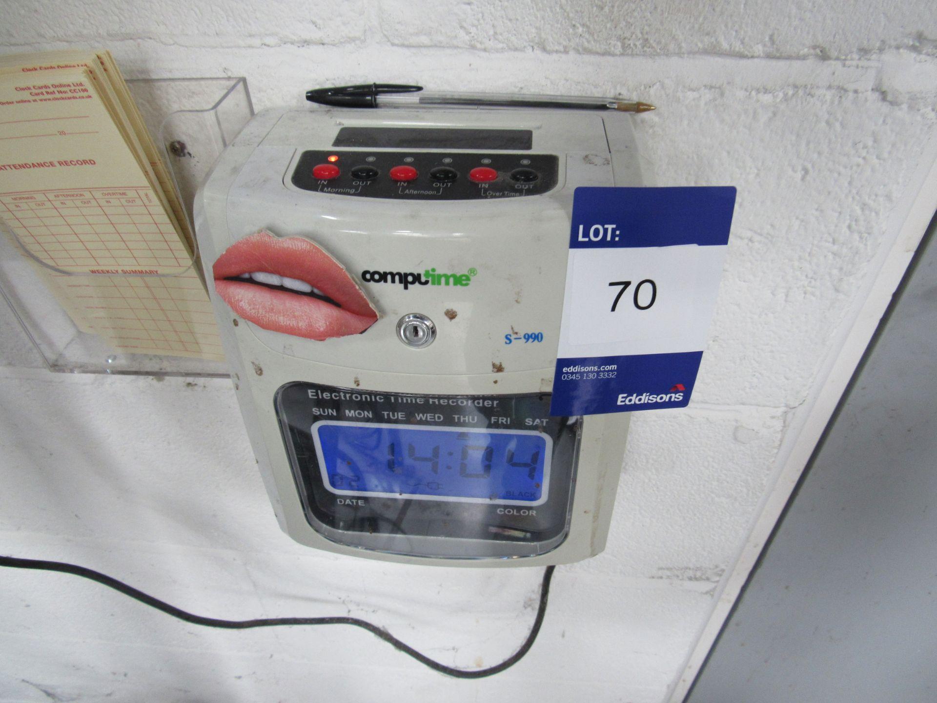 Computime S-990 Clocking In Machine - Image 2 of 2