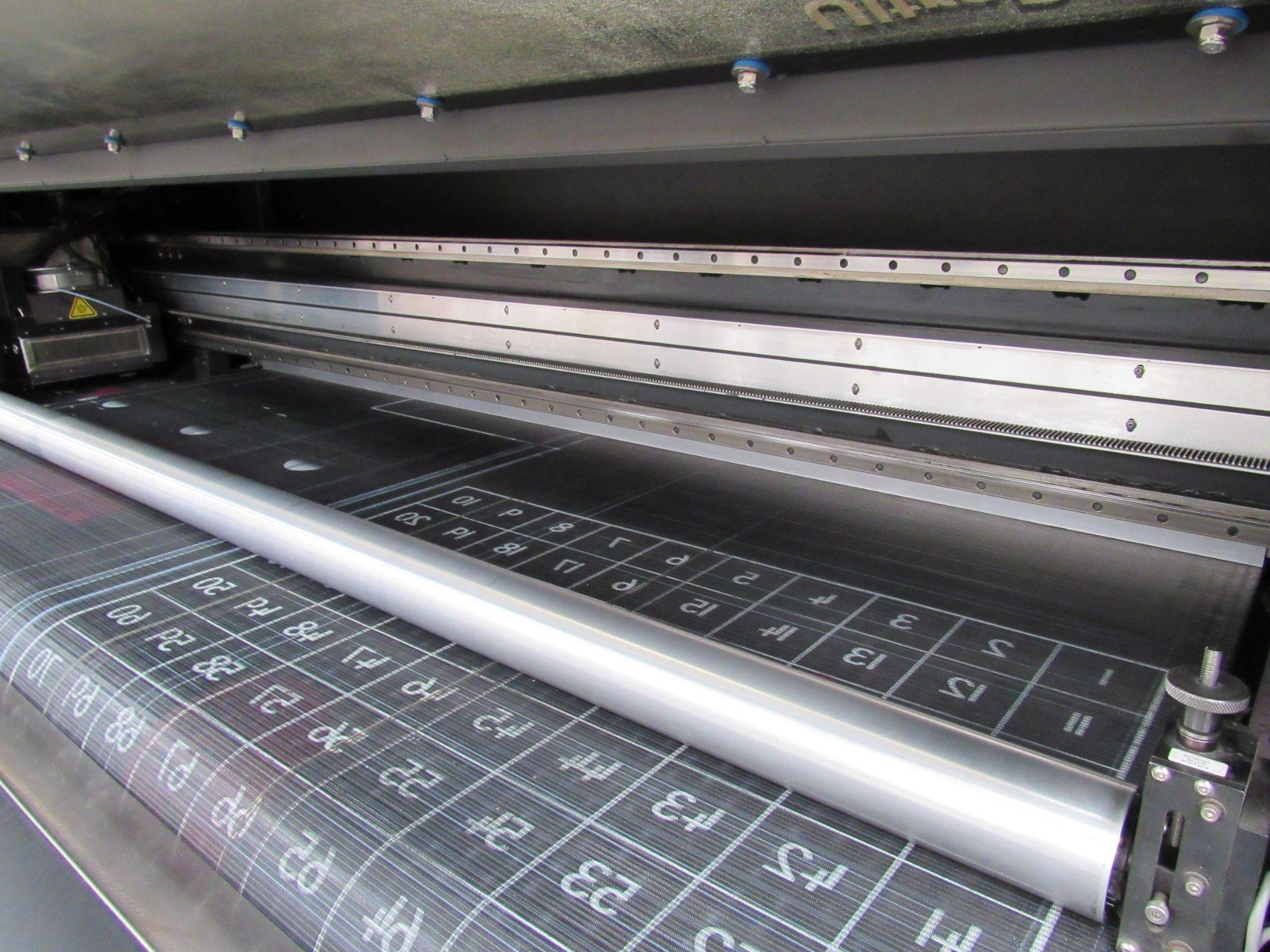EFI VUTEk H2000 Pro - UltraDrop Technology UV 2m Hybrid Printer, Serial Number 262013, Dec 2014, - Image 8 of 16