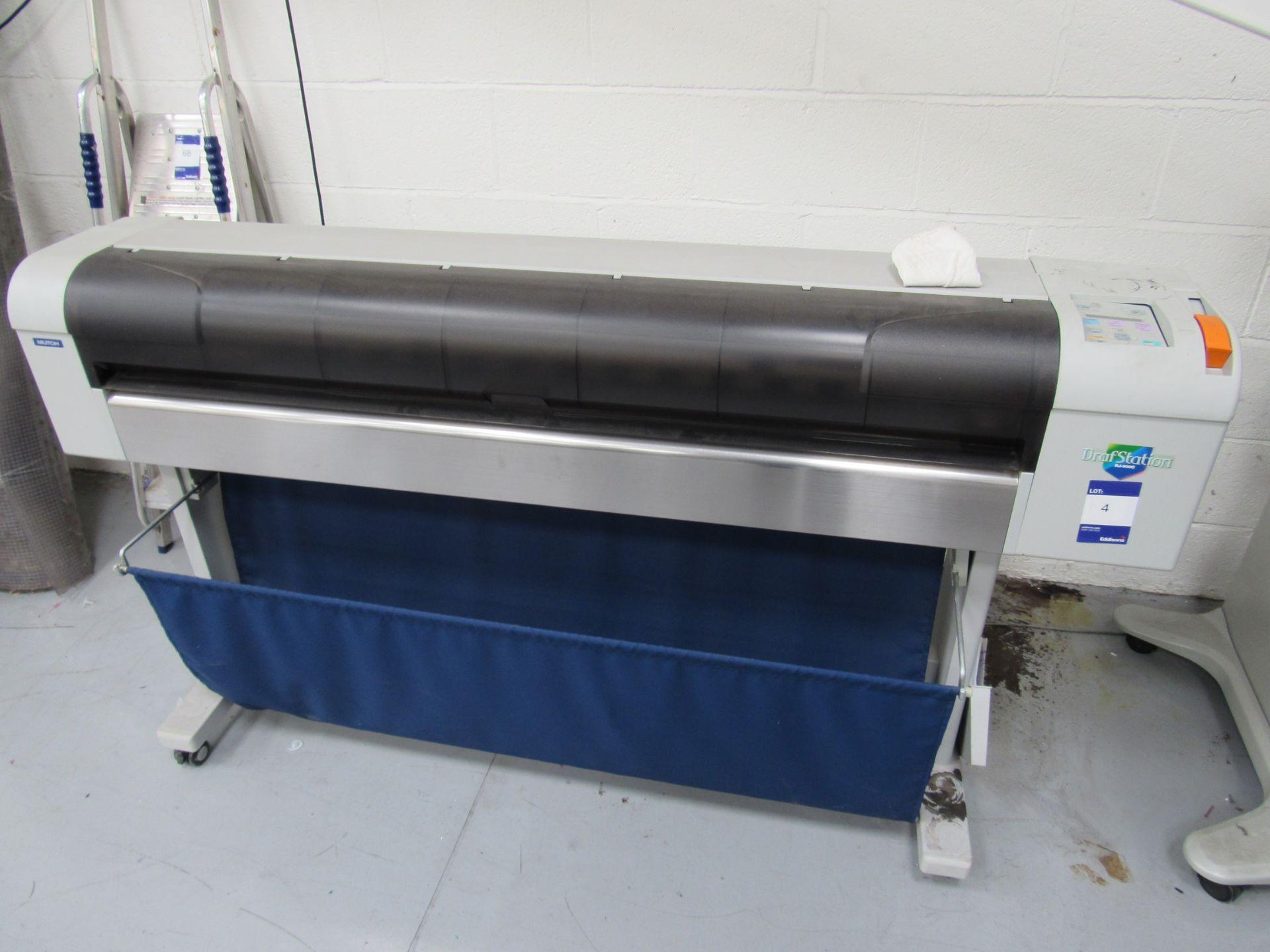 Mlitoh RJ-900C Wide Format Printer 1150mm Serial Number FN4E004886