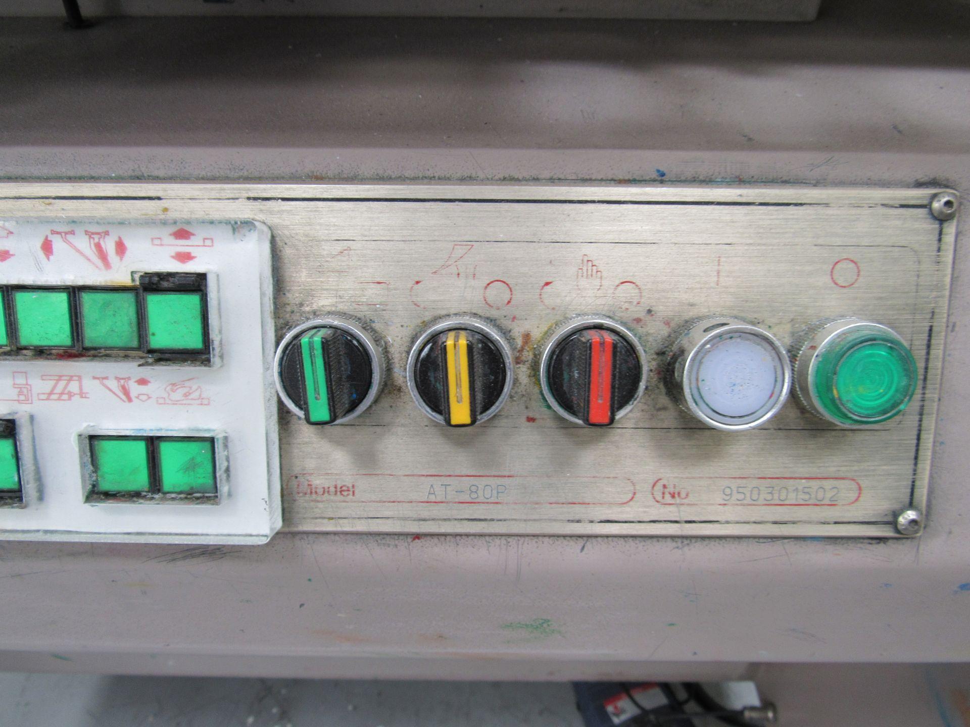 ATMA AT-80P Screen Printer 700x900mm, Serial Number 950301502 - Image 4 of 7
