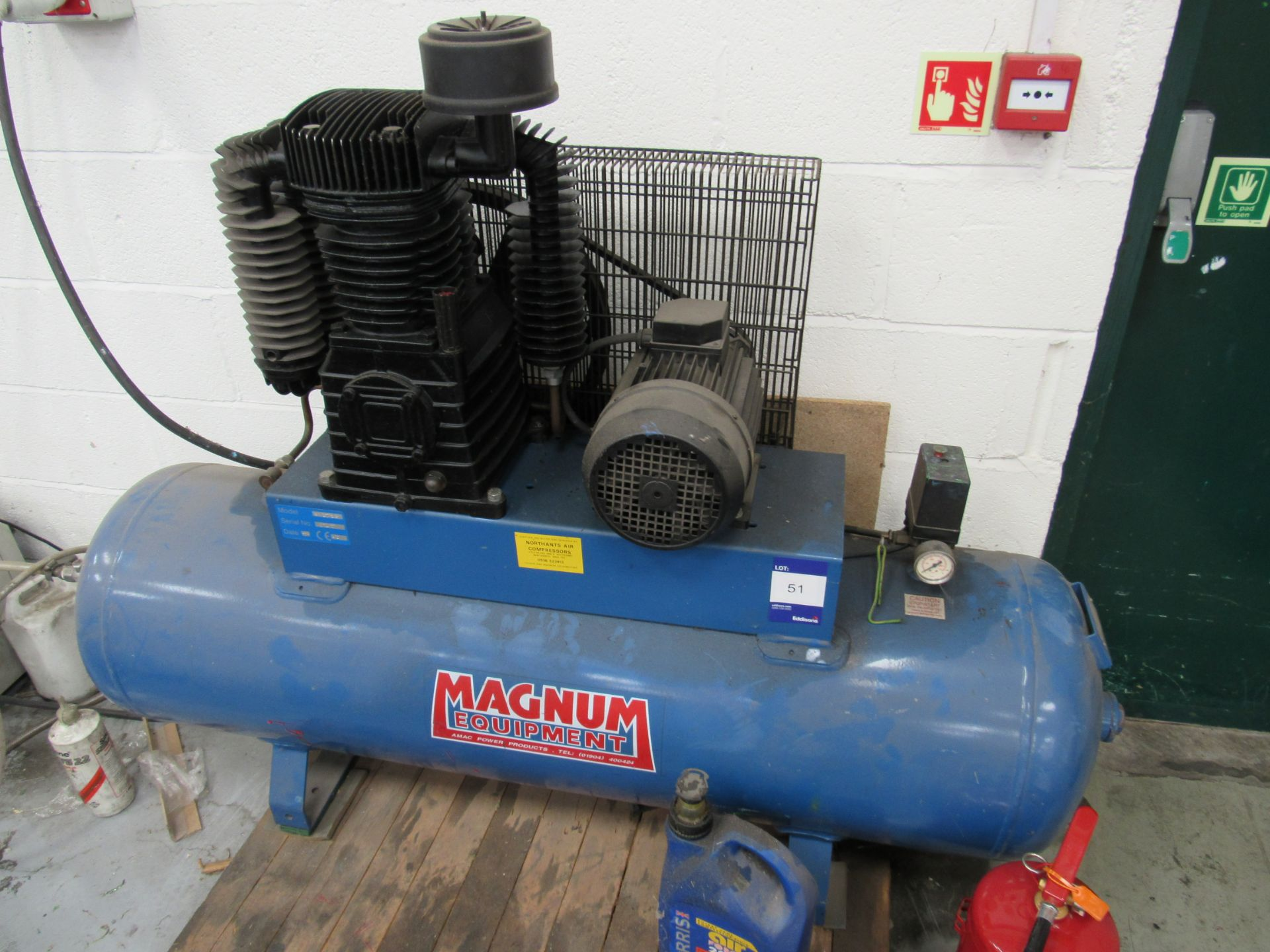 Magnum SX27/240 Receiver Mounted Compressor Serial Number 8745, 1995 - Image 2 of 4