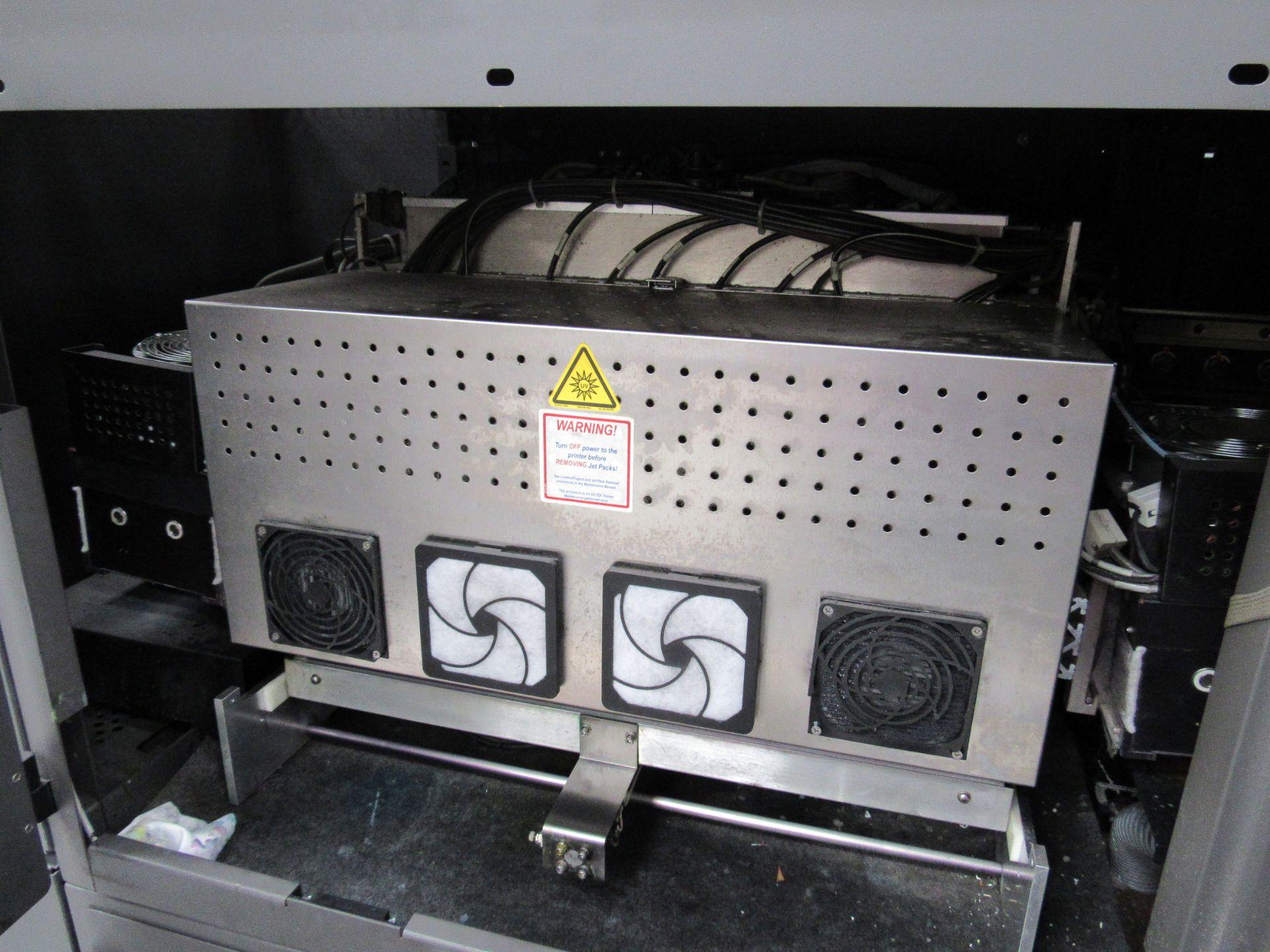 EFI VUTEk H2000 Pro - UltraDrop Technology UV 2m Hybrid Printer, Serial Number 262013, Dec 2014, - Image 10 of 16