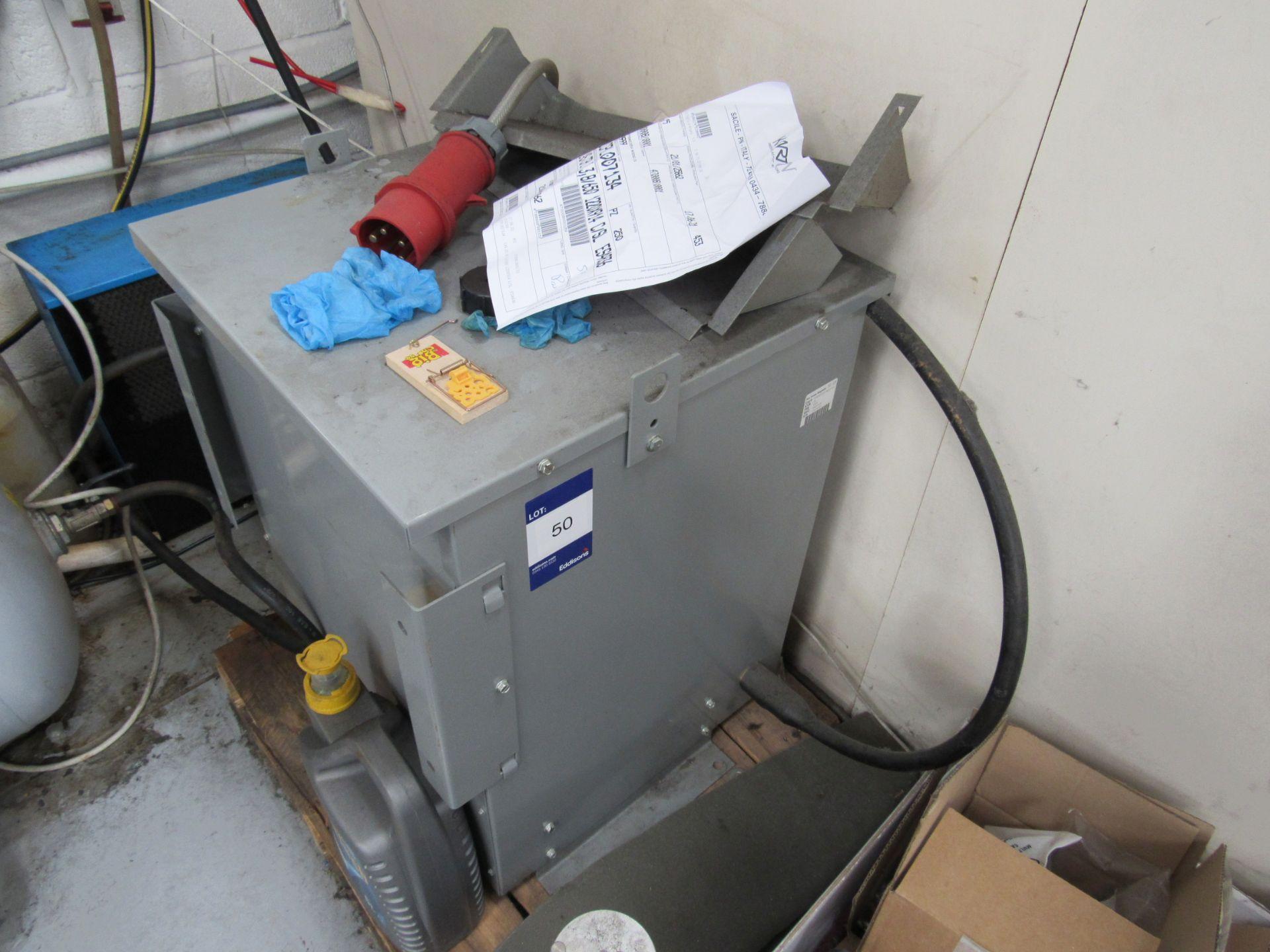 Rex Power Magnetic 30KVA 208Y/120Tranformer Serial Number 15E13110 Cat #, BA30GG1F-M/50/E3