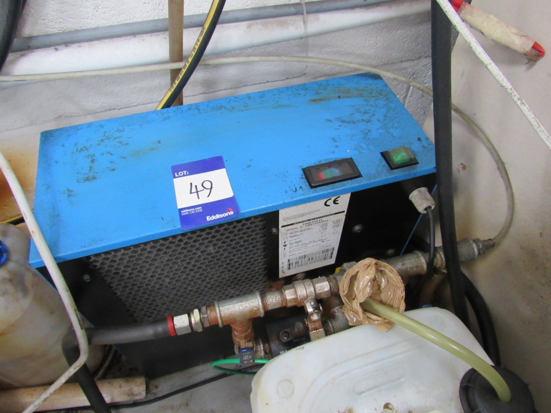 Mark MSM5, 5KWX, 200L Receiver Mounted Compressor with Air Drier Serial Number CA1870780 - Image 6 of 7