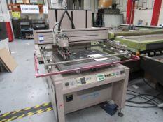 ATMA AT-80P Screen Printer 700x900mm, Serial Numbe