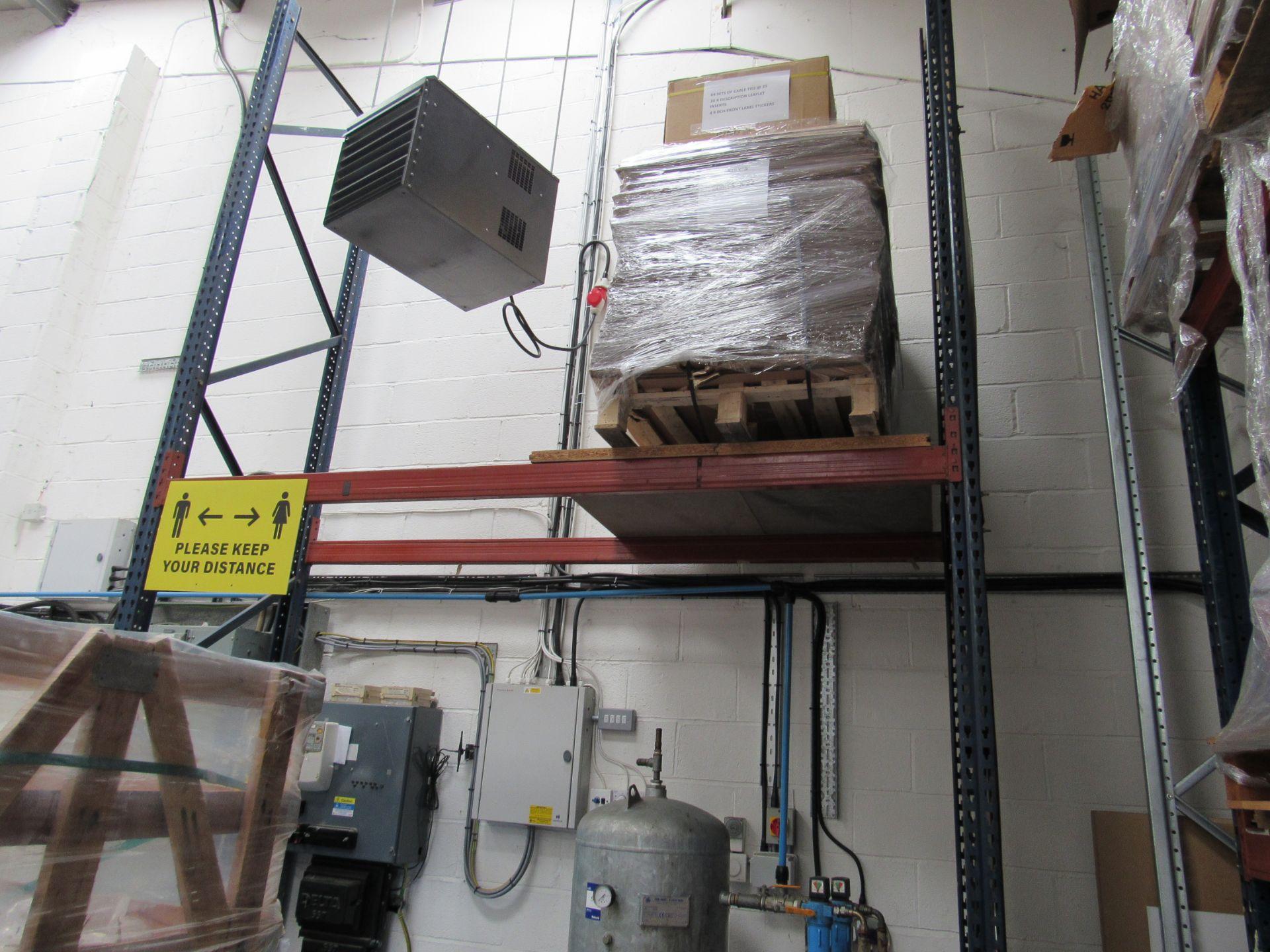 3 Bays Warehouse Racking, 5 End Frames, 20 Cross Beams - Image 3 of 3
