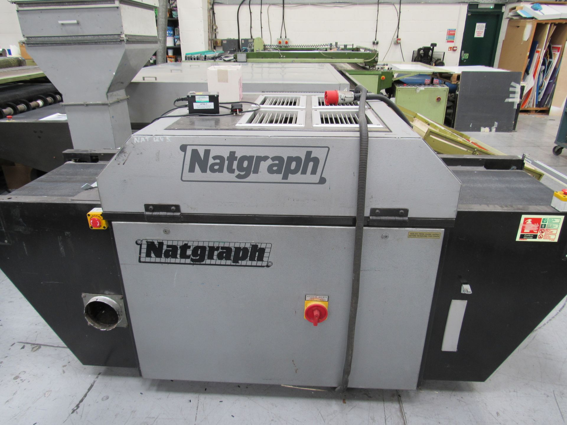 Natgraph UV Drier with Belt, 6985 Hours, Lamp Changed at 6795 Hours - Image 4 of 4