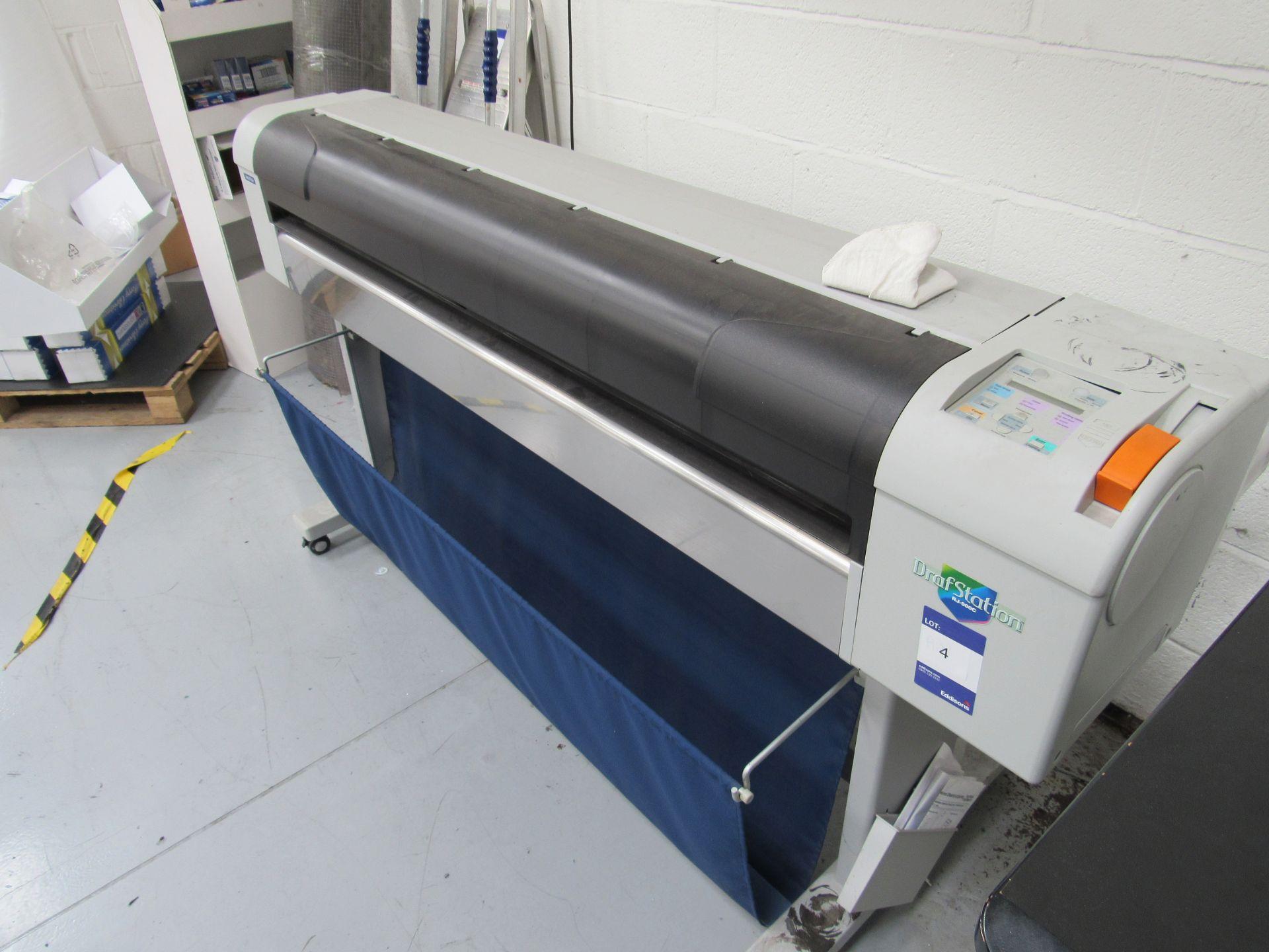 Mlitoh RJ-900C Wide Format Printer 1150mm Serial Number FN4E004886 - Image 2 of 5