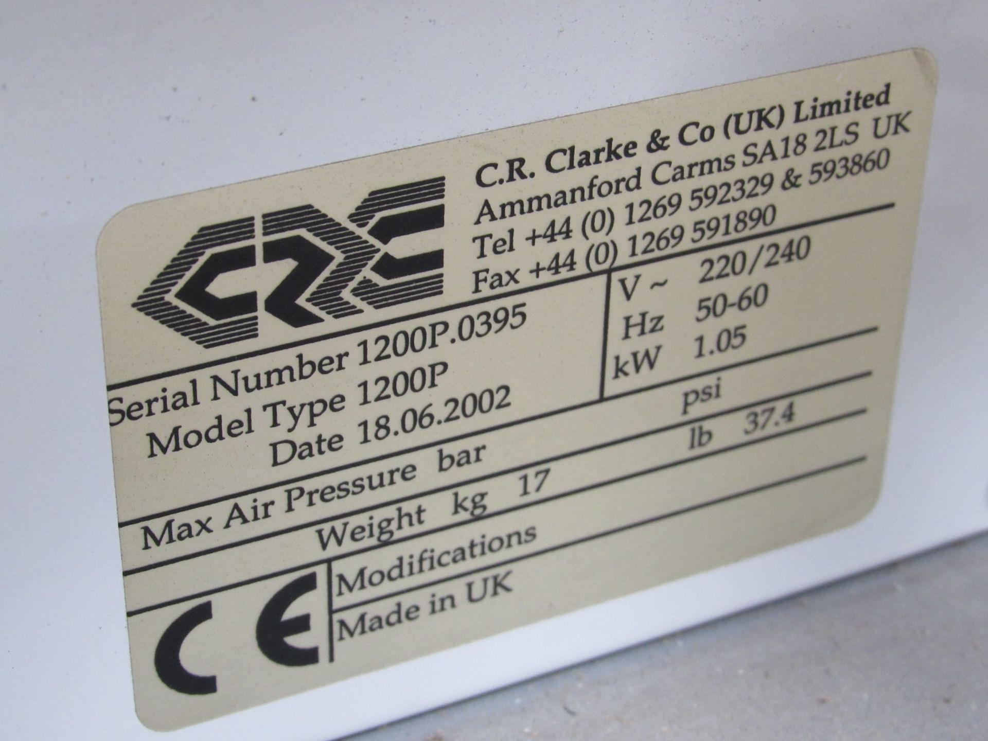 C R Clarke 1200P Hotwire Strip Heater with 2 Wires - Image 4 of 4