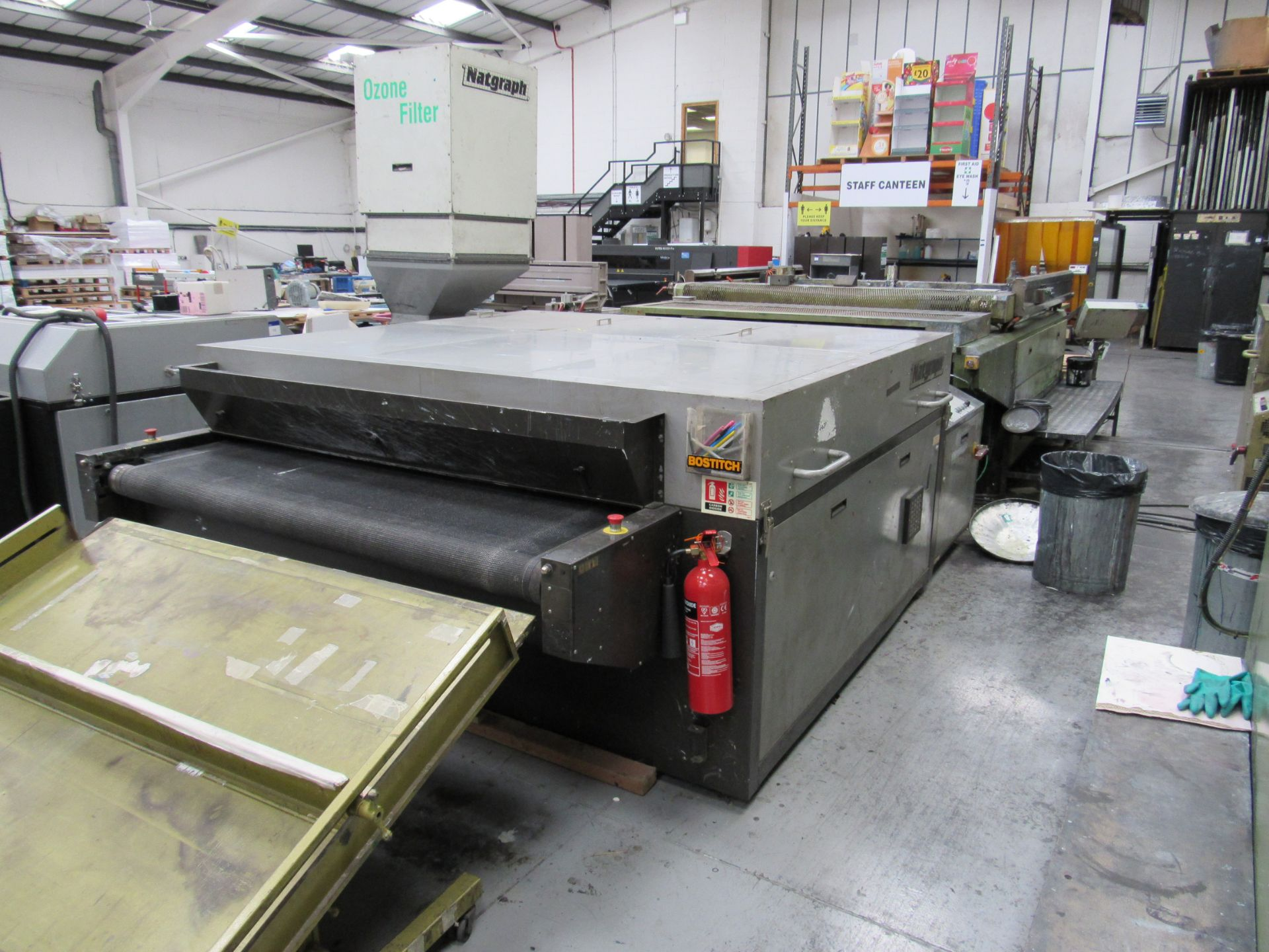 Serfast Screen Printer with Natgraph 170-02.01 UV Dryer, Serial Number 337-02-04, 2002 - Image 13 of 13