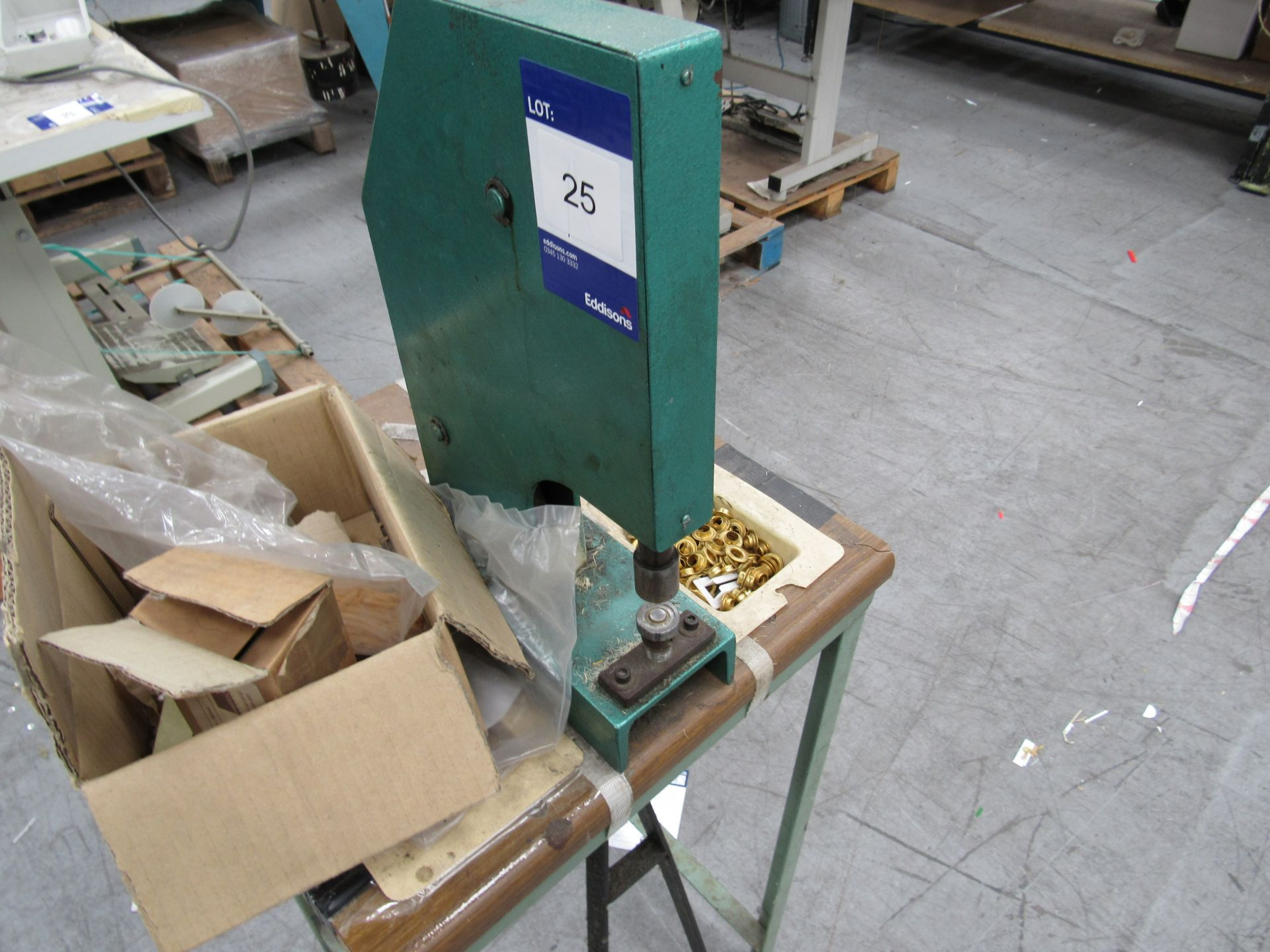 Treadle Operated Eyelet Press - Image 2 of 2
